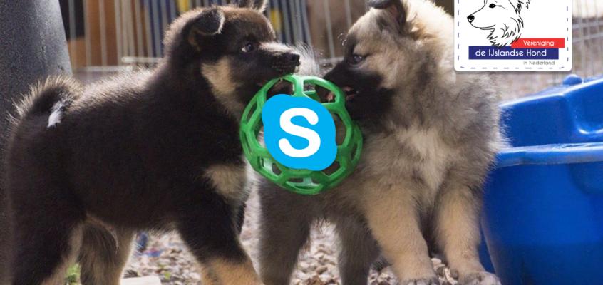 Algemene ledenvergadering 7 juni via Skype
